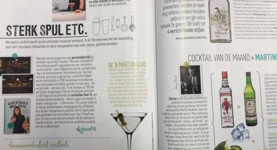 Tess deelt vanaf nu elke maand haar kennis over drank en cocktails met delicious.