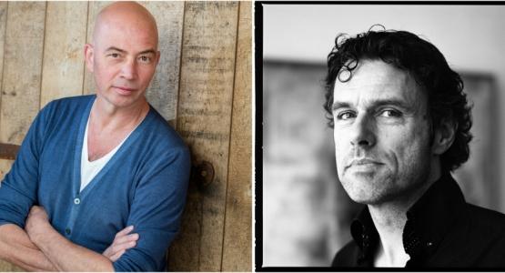 Tommy Wieringa en Auke Kok tekenen bij Hollands Diep