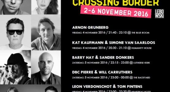 Lebowski op Crossing Border Festival