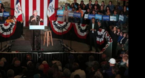 Op campagne met Clinton - deel 2: Groundwork