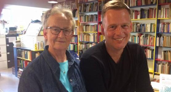 Erik Jan Harmens in gesprek met Marijke Hanegraaf