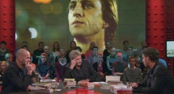 Auke Kok vertelt bij DWDD over zijn Cruijff-biografie