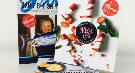 Carrera Culinair in de prijzen bij de Gourmand World Cookbook Awards 2016