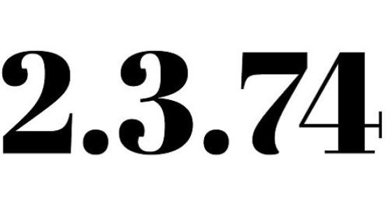 2.3.74 - Literair tijdschrift voor Grounded SF uit Nederland en Vlaanderen
