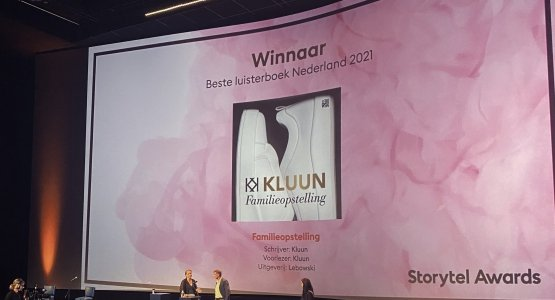 Kluun wint Storytel Award 2021