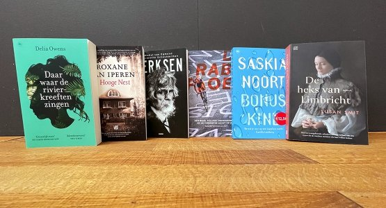 In week 30 staan er 6 titels van Overamstel Uitgevers in De Bestseller 60
