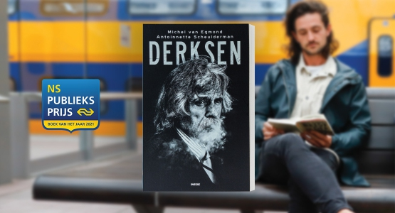 'Derksen' van Michel van Egmond & Antoinnette Scheulderman genomineerd voor de NS Publieksprijs 2021