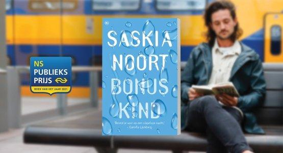 'Bonuskind' van Saskia Noort genomineerd voor de NS Publieksprijs 2021