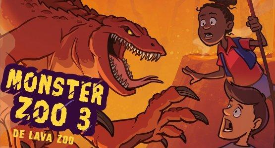 Leesfragment 'Monster Zoo 3 - De Lava Zoo'