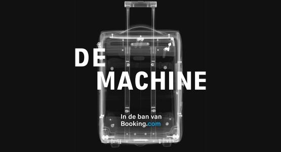 Half november verschijnt bij Lebowski Publishers: 'De Machine - In de ban van Booking.com' van Stijn Bronzwaer, Joris Kooiman en Merijn Rengers