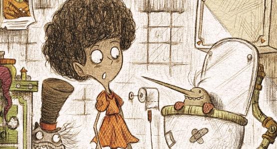 In oktober verschijnt bij Moon: 'Pas op voor de billenbijter!' van Lucas van de Meerendonk met illustraties van Stefan Yamá Cab
