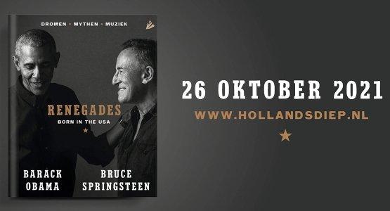 Voormalig president Barack Obama en muzikant Bruce Springsteen ontmoeten elkaar en vertellen hun Amerikaanse verhalen in 'Renegades: Born in the USA'
