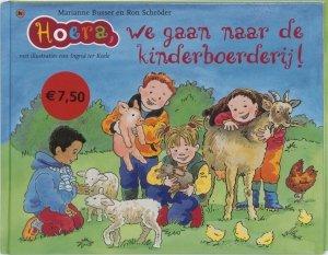 Gebonden: Hoera, we gaan naar de kinderboerderij! - Marianne Busser & Ron Schröder