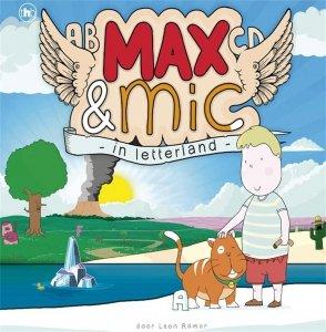 Digitale download: Max en Mic in letterland - Leon Romer