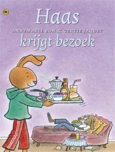 Digitale download: Haas krijgt bezoek - Annemarie Bon