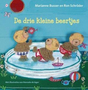 Gebonden: De drie kleine beertjes - Marianne Busser & Ron Schröder