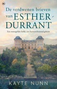 Paperback: De verdwenen brieven van Esther Durrant - Kayte Nunn