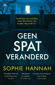 Paperback: Geen spat veranderd - Sophie Hannah