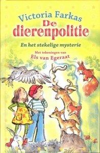 Digitale download: De dierenpolitie en het stekelige mysterie - Victoria Farkas