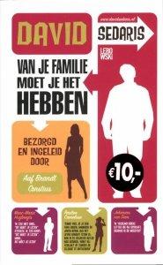 Paperback: Van je familie moet je het hebben - David Sedaris