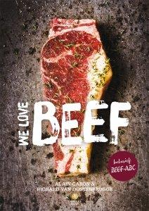 Gebonden: We love beef - Alain Caron