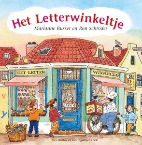 Gebonden: Het Letterwinkeltje - Marianne Busser & Ron Schröder