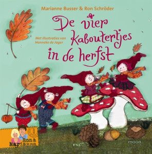 Gebonden: De vier kaboutertjes in de herfst - Marianne Busser & Ron Schröder