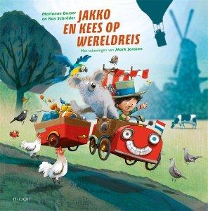Digitale download: Jakko en Kees op wereldreis - Ron Schröder en Marianne Busser