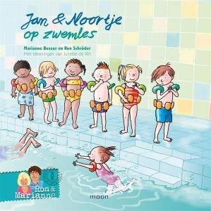 Gebonden: Jan & Noortje op zwemles - Ron Schröder en Marianne Busser