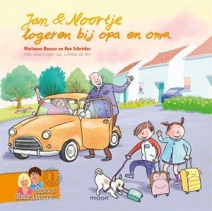 Gebonden: Jan & Noortje logeren bij opa en oma - Ron Schröder en Marianne Busser