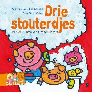 Gebonden: Drie stouterdjes - Ron Schröder en Marianne Busser