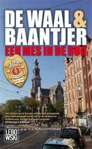 Paperback: Een mes in de rug - de Waal & Baantjer