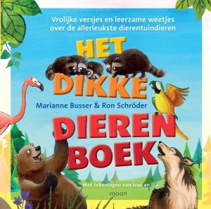 Gebonden: Het dikke dierenboek - Marianne Busser en Ron Schröder