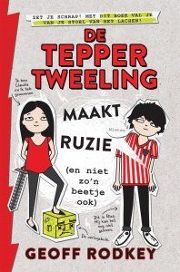 Paperback: De Tepper-tweeling maakt ruzie (en niet zo'n beetje ook) - Geoff Rodkey
