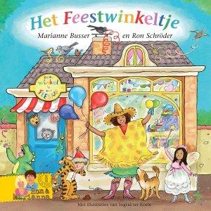 Gebonden: Het Feestwinkeltje - Marianne Busser en Ron Schröder