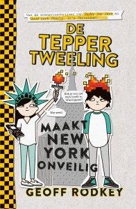 Paperback: De Tepper-tweeling maakt New York onveilig - Geoff Rodkey