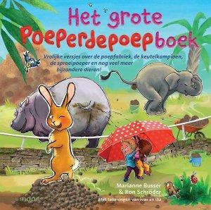 Gebonden: Het grote poeperdepoepboek - Marianne Busser & Ron Schröder