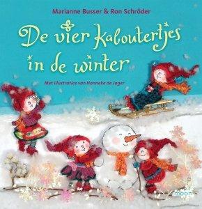 Gebonden: De vier kaboutertjes in de winter - Marianne Busser en Ron Schröder