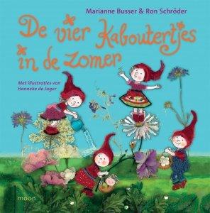 Gebonden: De vier kaboutertjes in de zomer - Marianne Busser & Ron Schröder