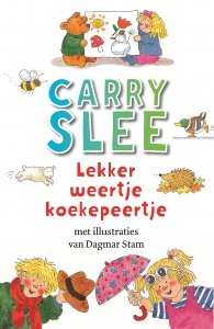 Paperback: Lekker weertje koekepeertje - Carry Slee