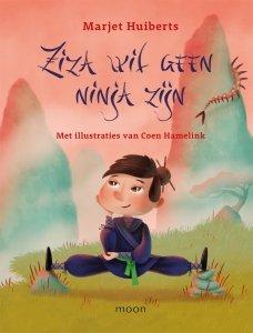 Gebonden: Ziza wil geen ninja zijn - Marjet Huiberts