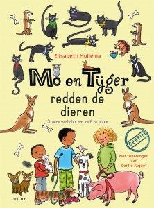 Gebonden: Mo en Tijger redden de dieren - Elisabeth Mollema