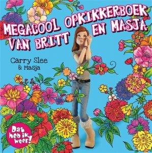 Paperback: Megacool opkikkerboek van Britt en Masja - Carry Slee