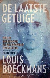 Paperback: De laatste getuige - Louis Boeckmans