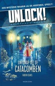 Paperback: Unlock 1: Ontsnap uit de catacomben - Fabien Clavel
