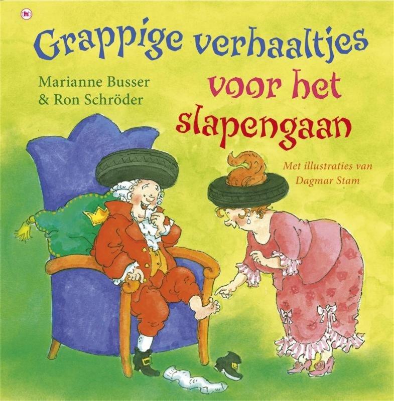 Marianne Busser & Ron Schröder - Grappige verhaaltjes voor slapengaan