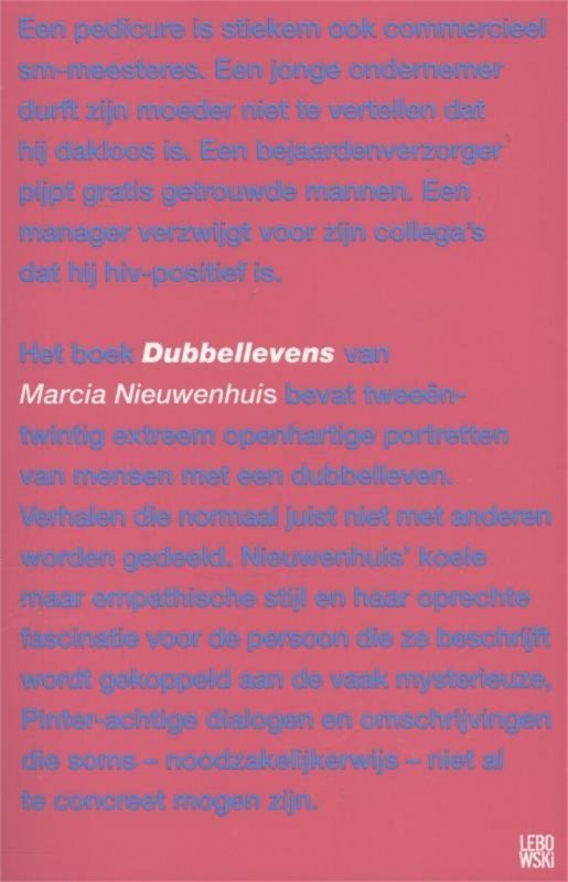 Marcia Nieuwenhuis - Dubbellevens