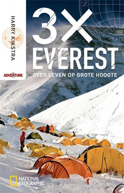 Harry Kikstra - 3x Everest