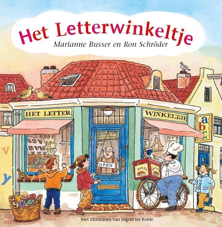 Marianne Busser & Ron Schröder - Het Letterwinkeltje