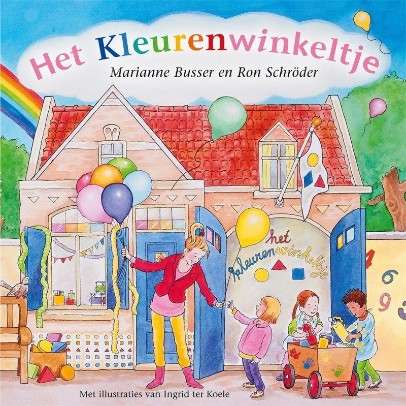 Marianne Busser & Ron Schröder - Het kleurenwinkeltje